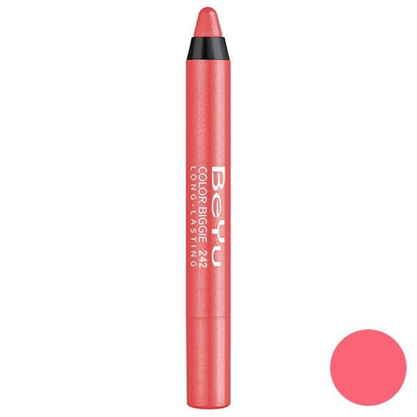 رژ لب مدادی 2 کاره بی یو مدل Color Biggie for Lip and More 242