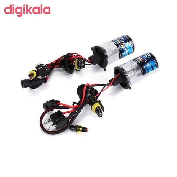 لامپ زنون خودرو مدل H4-2 بسته 2 عددی main 1 2