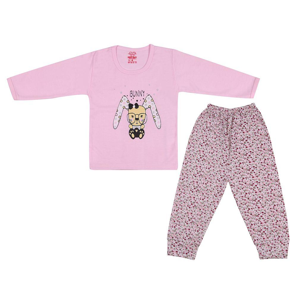 ست تی شرت و شلوار نوزادی کد ۵۰۲