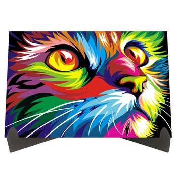 تابلو شاسی رومیزی طرح گربه کد LS2316