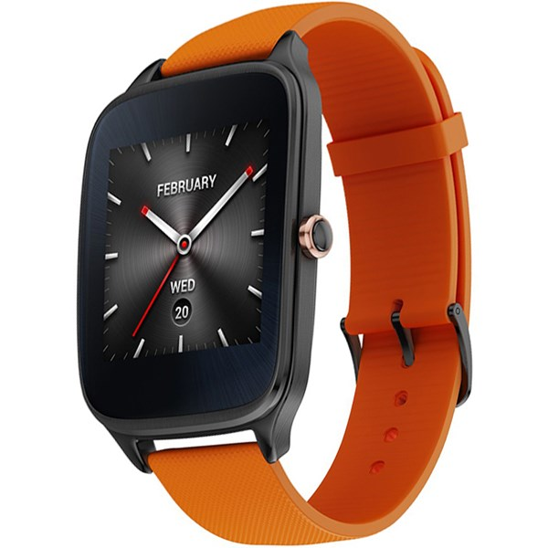 ساعت هوشمند ایسوس مدل زن واچ 2 WI501Q با بند لاستیکی