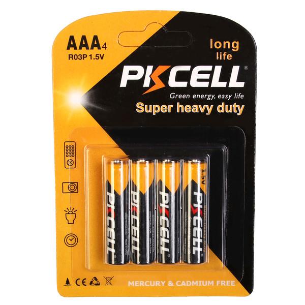 باتری نیم قلمی پیکسل مدل Super Heavy Duty بسته 4 عددی