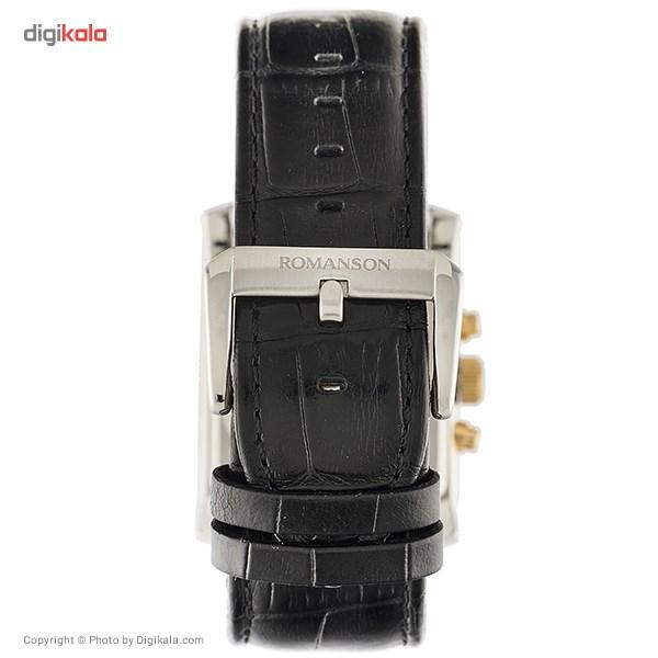 ساعت مچی عقربه ای مردانه رومانسون مدل TL0342BM1CA11G