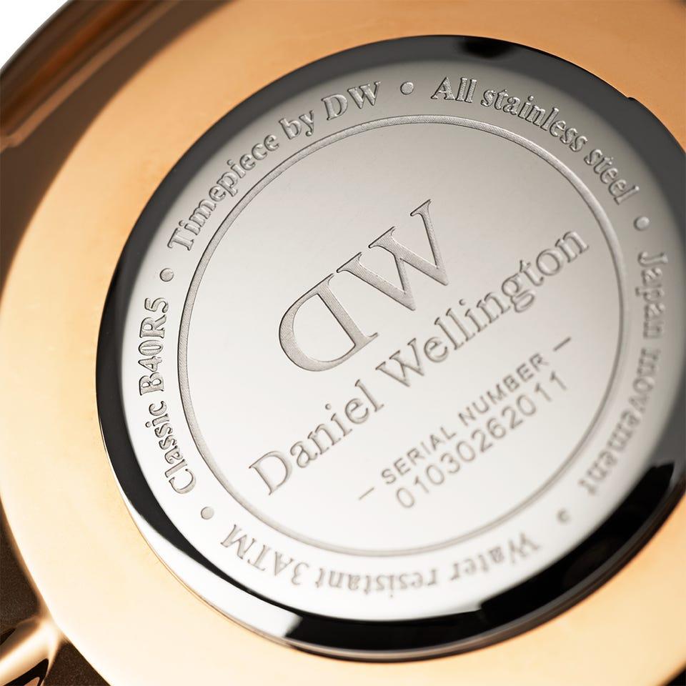 ساعت مچی عقربه ای زنانه دنیل ولینگتون کد DW76              خرید (⭐️⭐️⭐️)