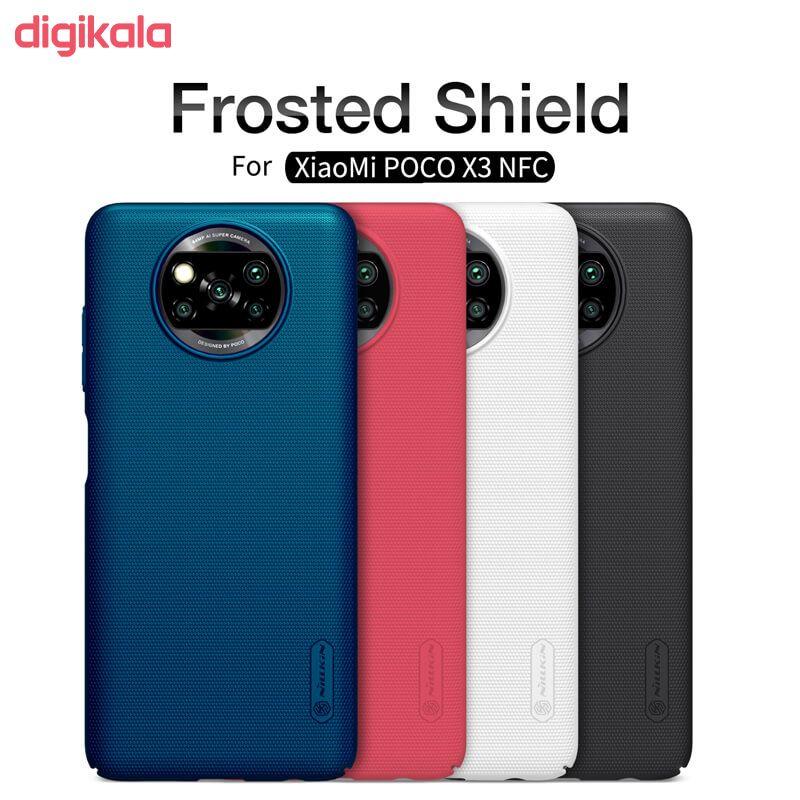 کاور نیلکین مدل Frosted Shield مناسب برای گوشی موبایل شیائومیRedmi Poco X3 NFC main 1 29