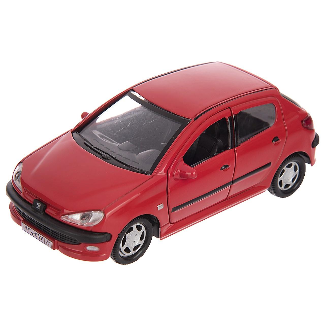 خرید                     ماشین بازی مدل Peugeot 206