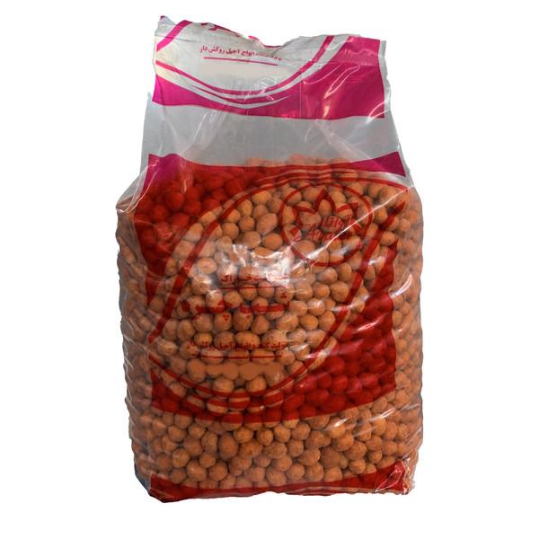 بادام زمینی روکش دار با طعم باربیکیو فلفلی آواتار - 10 کیلوگرم بسته 2 عددی