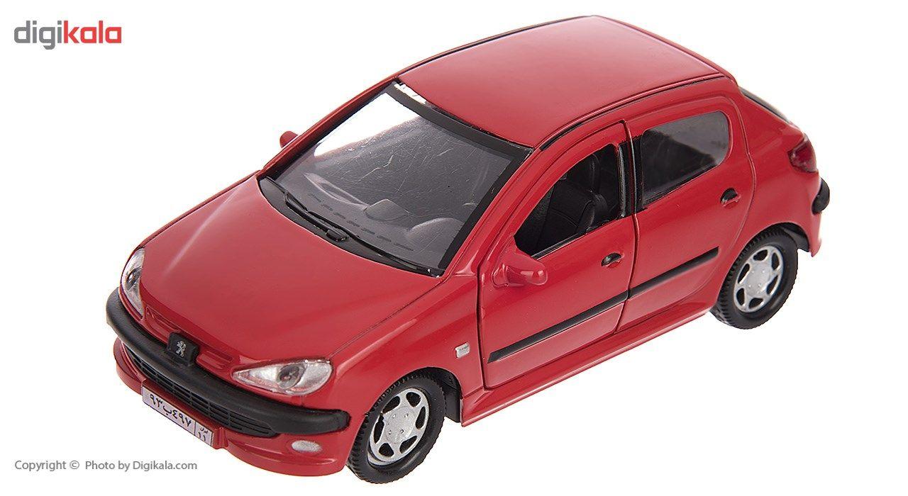ماشین بازی مدل Peugeot 206 main 1 1