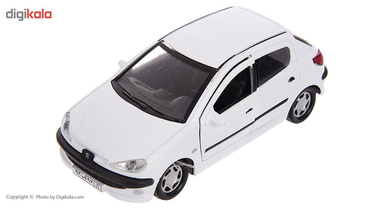 ماشین بازی مدل Peugeot 206 main 1 2