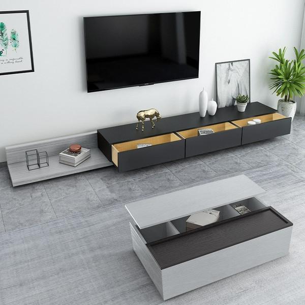 میز تلویزیون دیواری مدل M2BL200JM B100