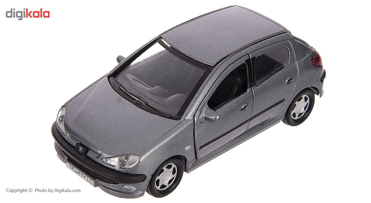 ماشین بازی مدل Peugeot 206 main 1 3