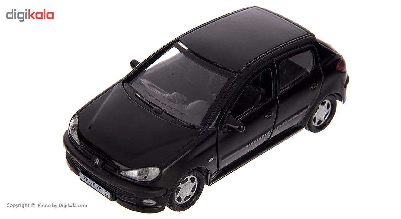 ماشین بازی مدل Peugeot 206 main 1 4