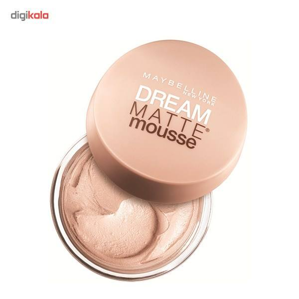 موس میبلین مدل Dream Mat Mousse Cameo 20  Maybelline Dream Matte Mousse Cameo 20