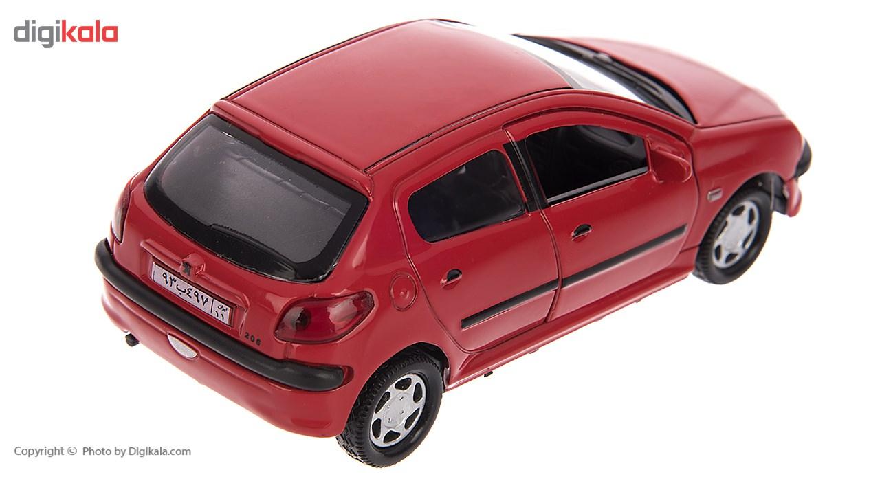ماشین بازی مدل Peugeot 206 main 1 5
