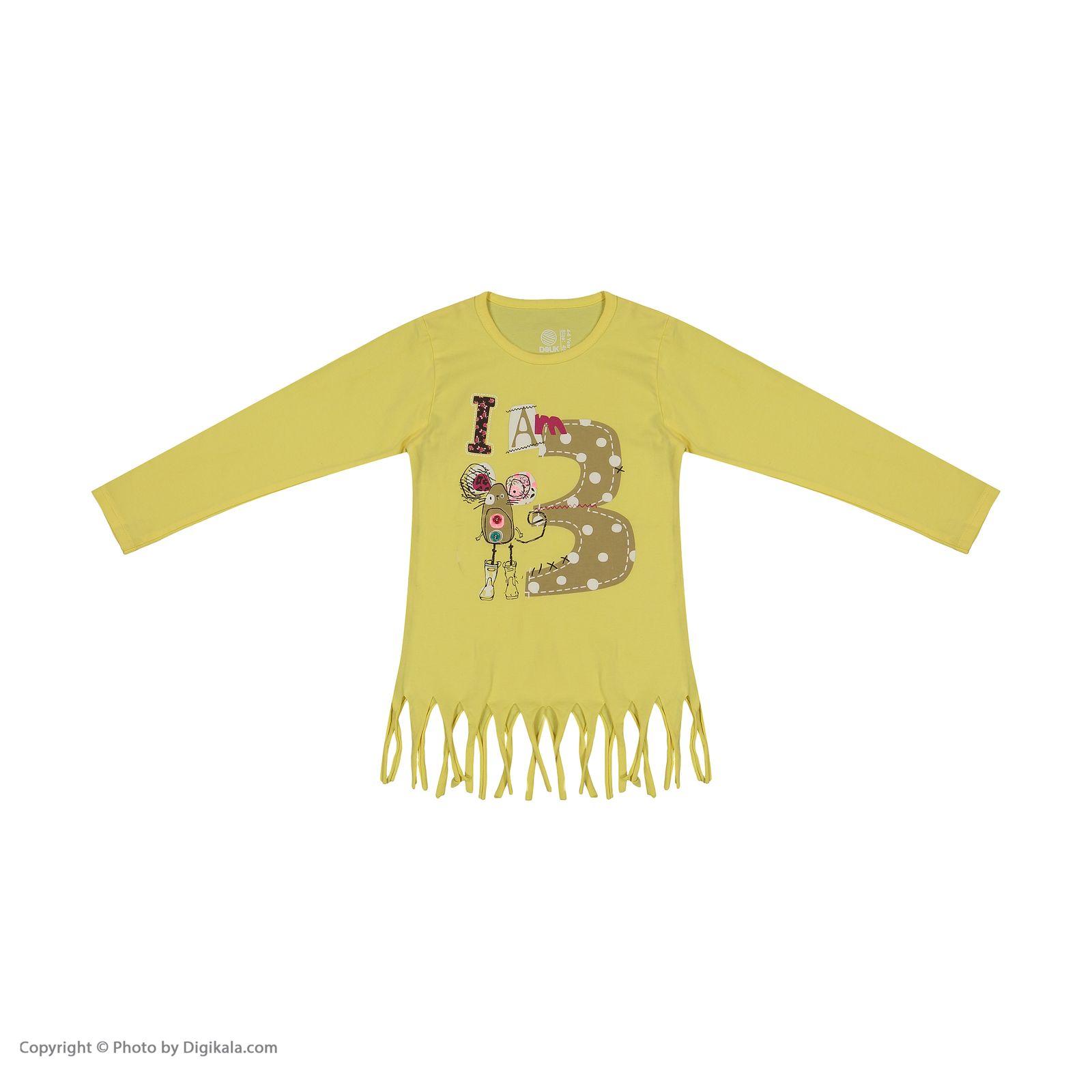 تی شرت دخترانه سون پون مدل 1391350-19 -  - 3
