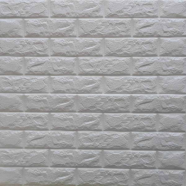 دیوارپوش مدل فومی طرح آجری بسته 6 عددی