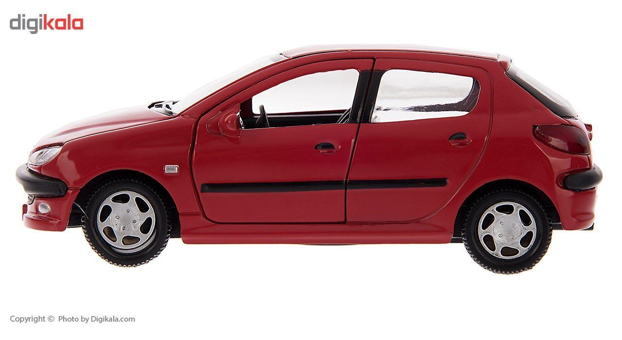 ماشین بازی مدل Peugeot 206 main 1 6