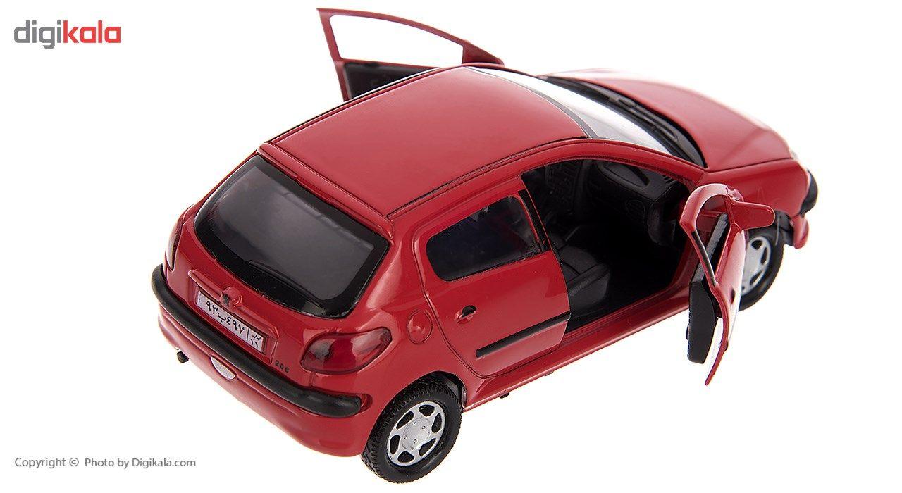 ماشین بازی مدل Peugeot 206 main 1 7