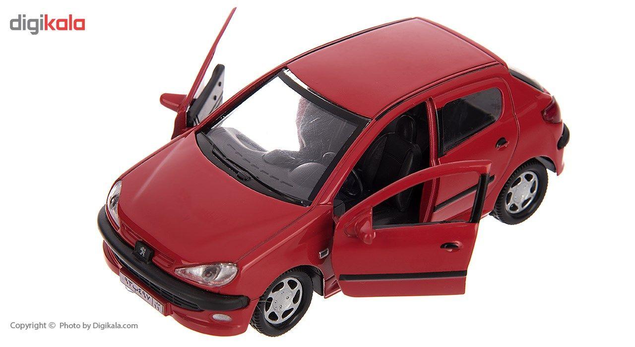 ماشین بازی مدل Peugeot 206 main 1 8