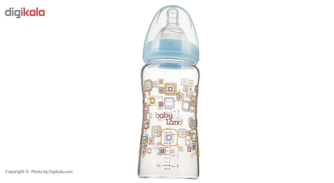شیشه شیر بیبی لند مدل 375Square ظرفیت 240 میلی لیتر main 1 1