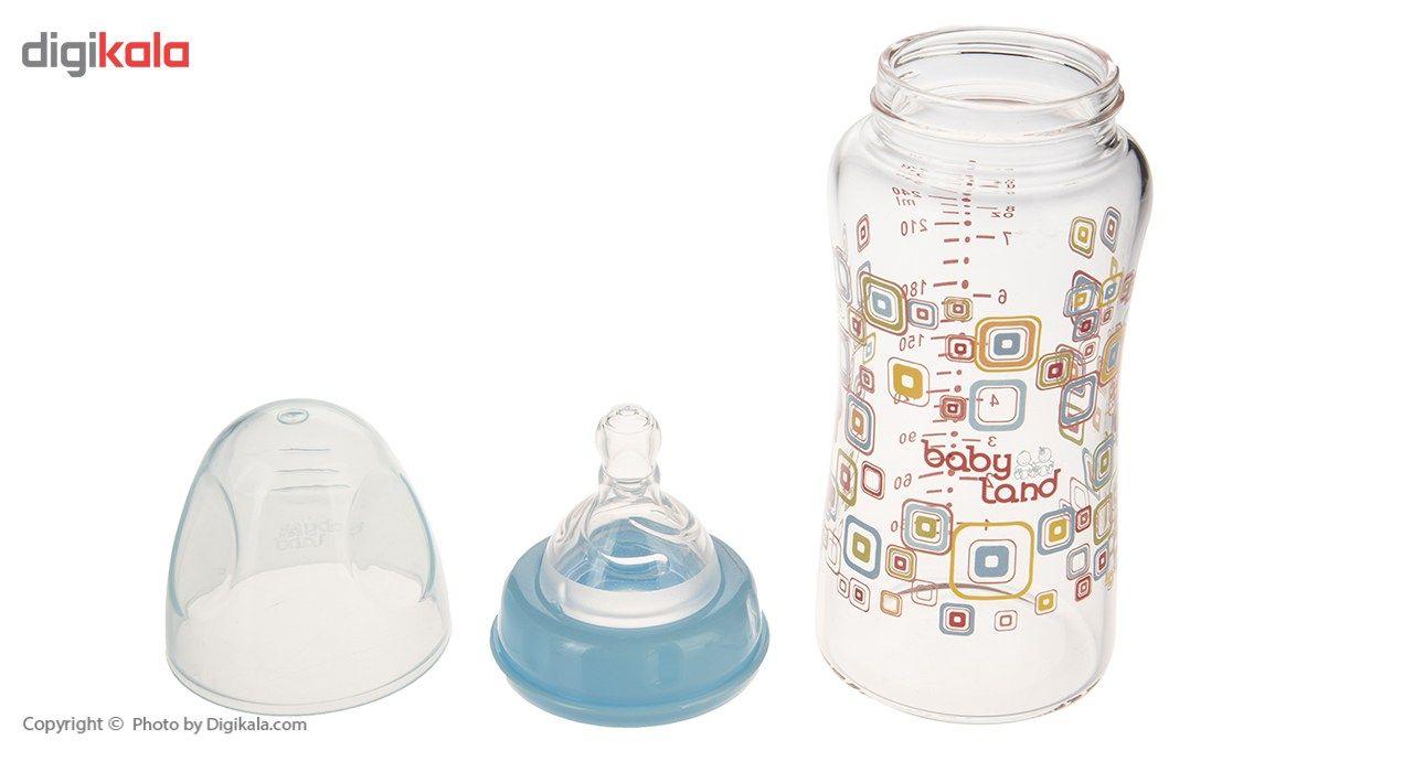 شیشه شیر بیبی لند مدل 375Square ظرفیت 240 میلی لیتر main 1 2