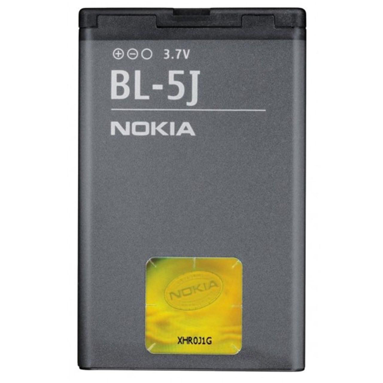 باتری موبایل مدل BL-5J  با ظرفیت 1320mAh مناسب برای گوشی موبایل نوکیا 5J