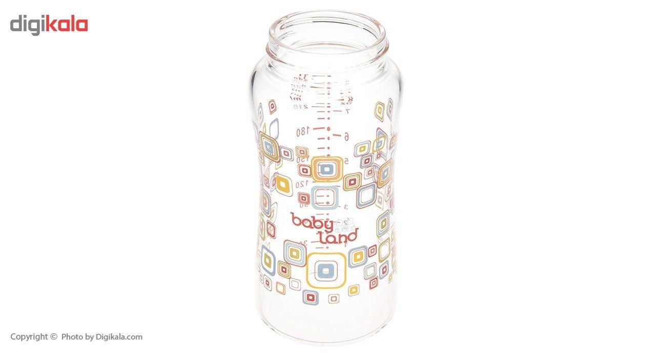 شیشه شیر بیبی لند مدل 375Square ظرفیت 240 میلی لیتر main 1 3