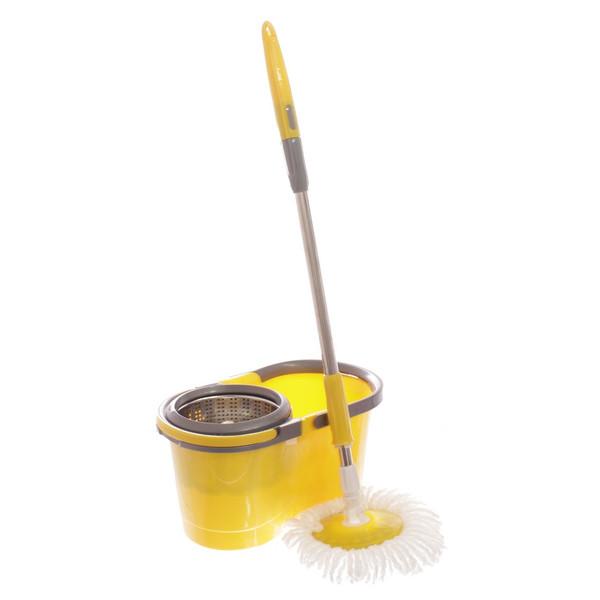 سطل و زمین شوی چرحشی گلدن استار مدل Easy Mop