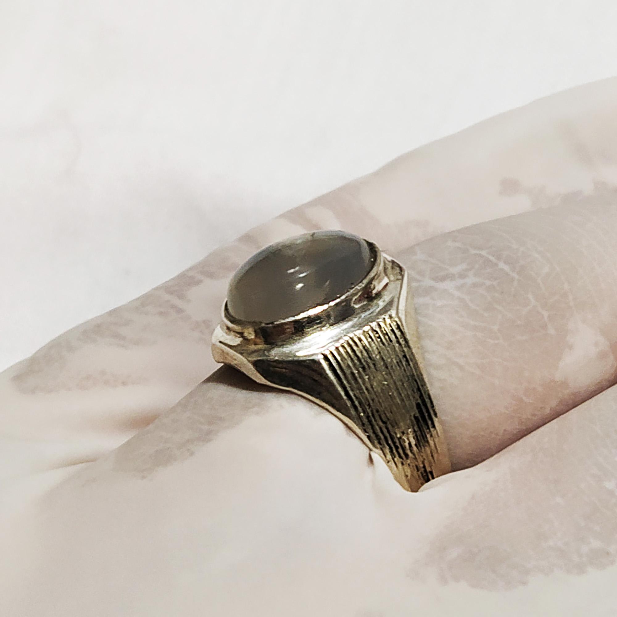 انگشتر نقره مردانه سلین کالا مدل دُر ce-As101