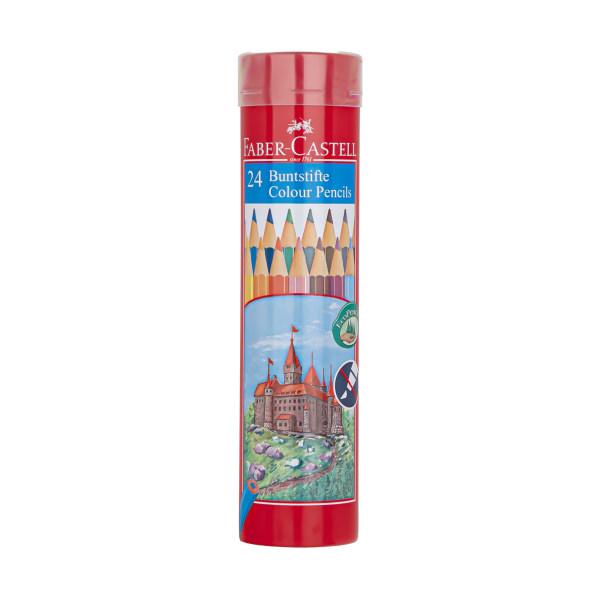 مداد رنگی 24 رنگ فابر-کاستل