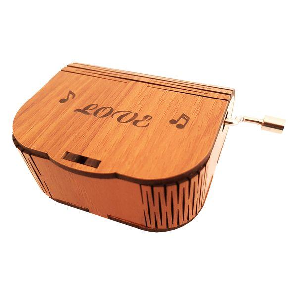 جعبه موزیکال طرح love مدل MB001
