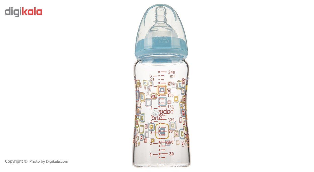 شیشه شیر بیبی لند مدل 375Square ظرفیت 240 میلی لیتر main 1 5