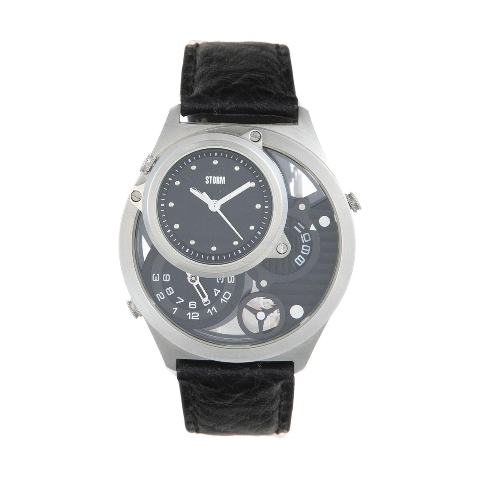 ساعت مچی عقربه ای مردانه استورم مدل ST 47144-BK -  - 2