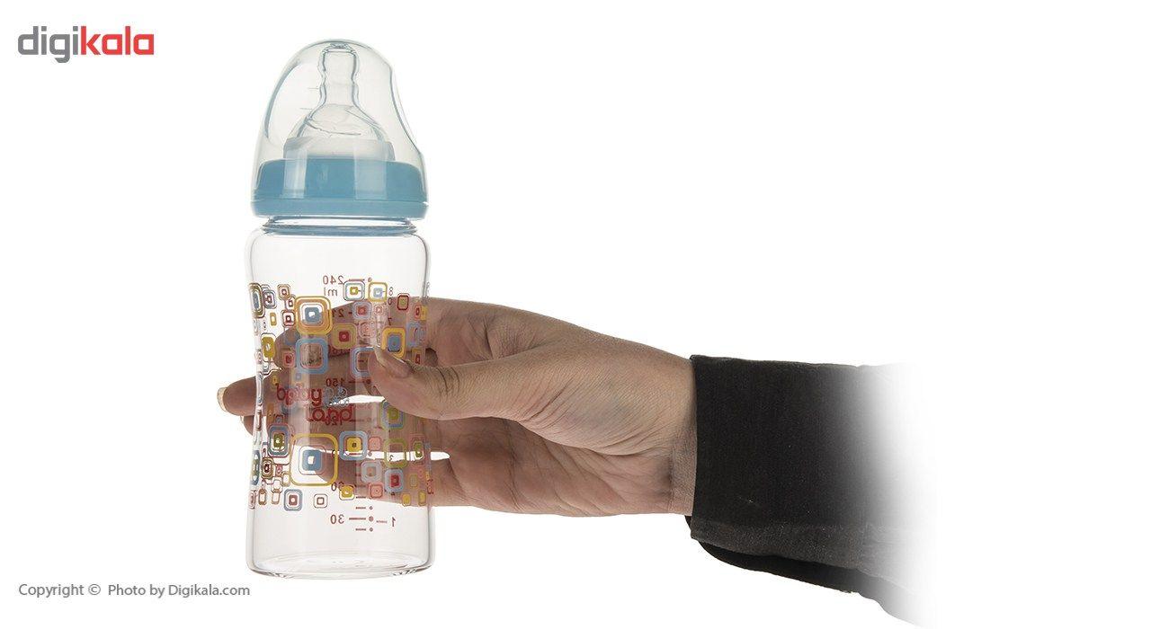 شیشه شیر بیبی لند مدل 375Square ظرفیت 240 میلی لیتر main 1 6