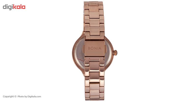 ساعت مچی عقربه ای زنانه بونیا مدل BNB10216-2573S