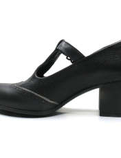 کفش زنانه آر اند دبلیو مدل 454 رنگ مشکی -  - 2