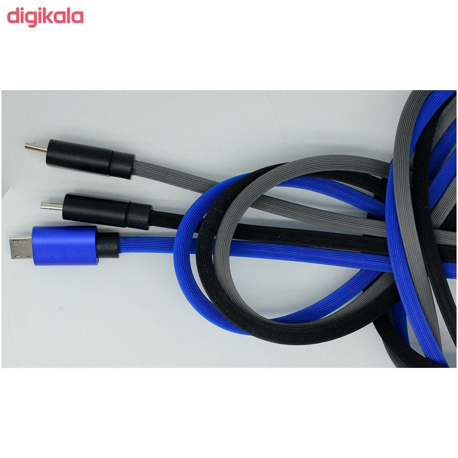 کابل تبدیل USB به USB-C تسکو مدل TC C169 طول 1 متر main 1 3