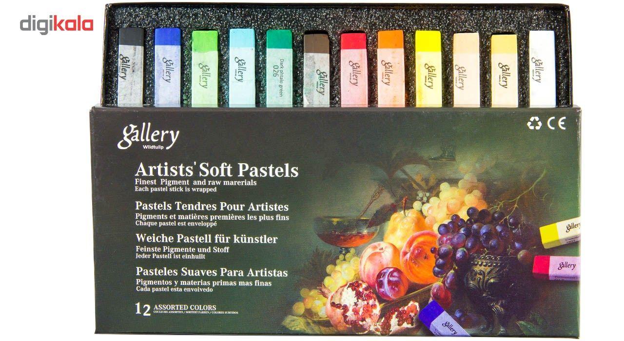 پاستل گچی 12 رنگ وایلد تولیپ مدل Gallery main 1 6