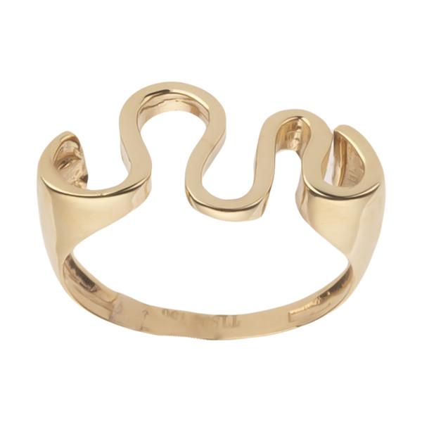 انگشتر طلا 18 عیار زنانه مایا ماهک مدل MR0473