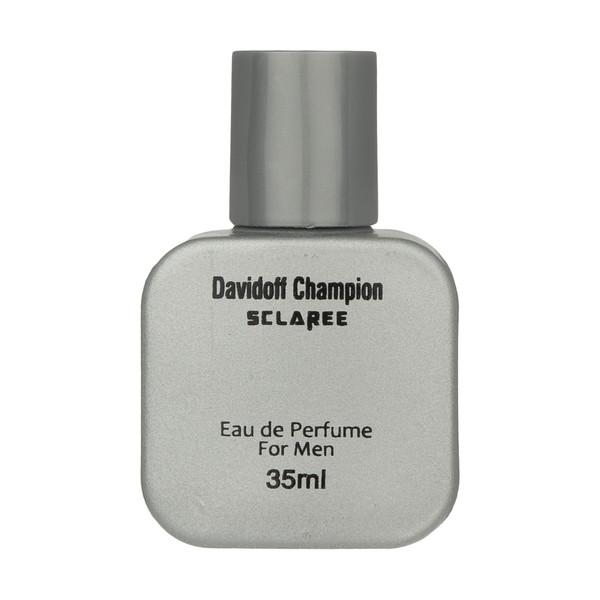 ادو پرفیوم مردانه اسکلاره مدل DAVIDOFF CHAMPION حجم 35 میلی لیتر