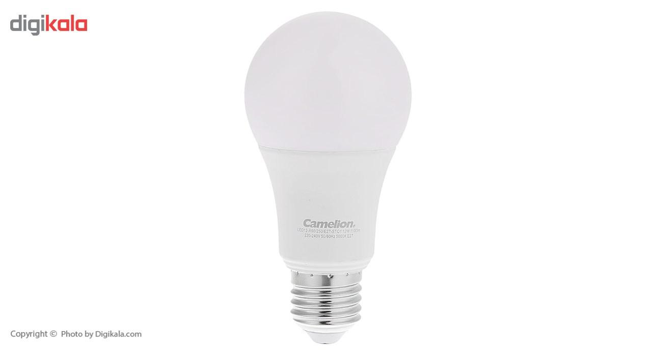 لامپ ال ای دی 12 وات کملیون مدل LED12-A60/E27-STQ1 پایه E27 main 1 1