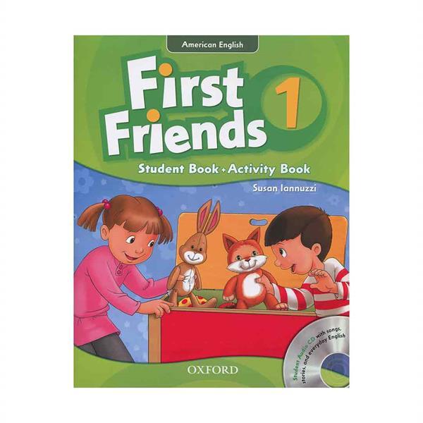 کتاب American First Friends 1 In One Volume اثر Susan Iannuzzi انتشارات آکسفورد