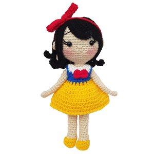 عروسک بافتنی طرح سفید برفی کد 27