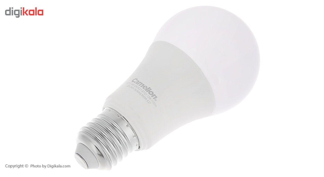 لامپ ال ای دی 12 وات کملیون مدل LED12-A60/E27-STQ1 پایه E27 main 1 2