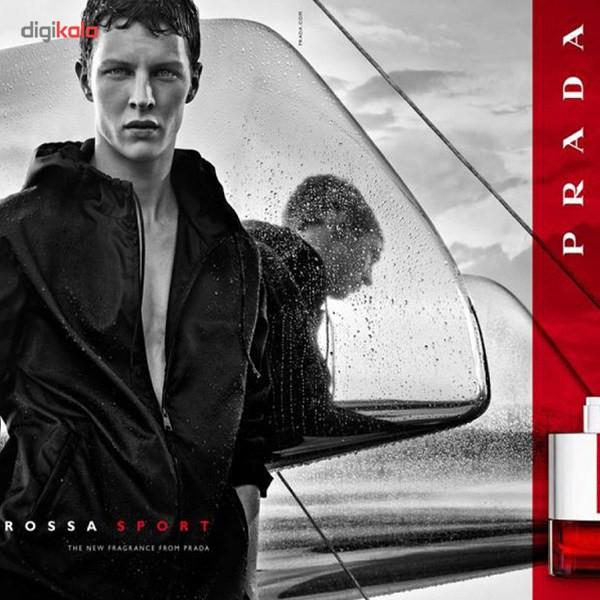 ادو تویلت مردانه پرادا مدل Luna Rossa Sport حجم 100 میلی لیتر