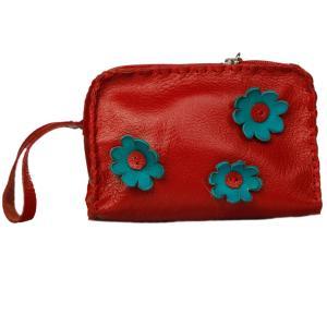 کیف لوازم آرایشی چرم طبییعی بز