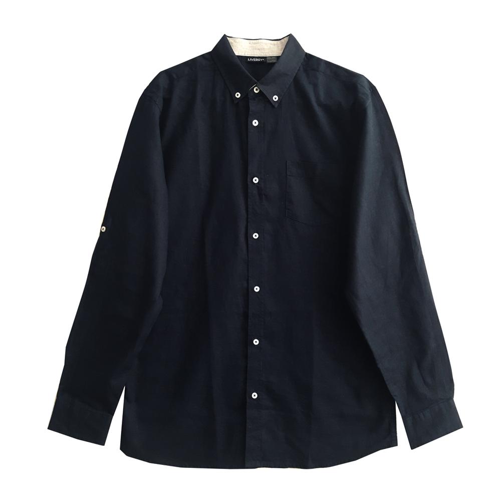 پیراهن آستین بلند مردانه لیورجی مدل ne397