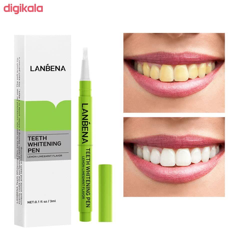 قلم سفید کننده دندان لنبنا کد 001  main 1 1