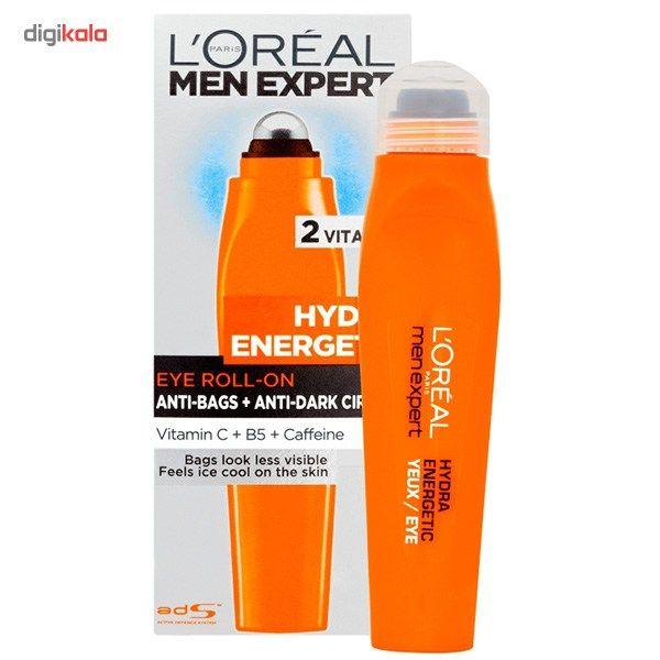 رول دور چشم لورآل سری Men Expert مدل Hydra Energetic حجم 10 میلی لیتر main 1 2