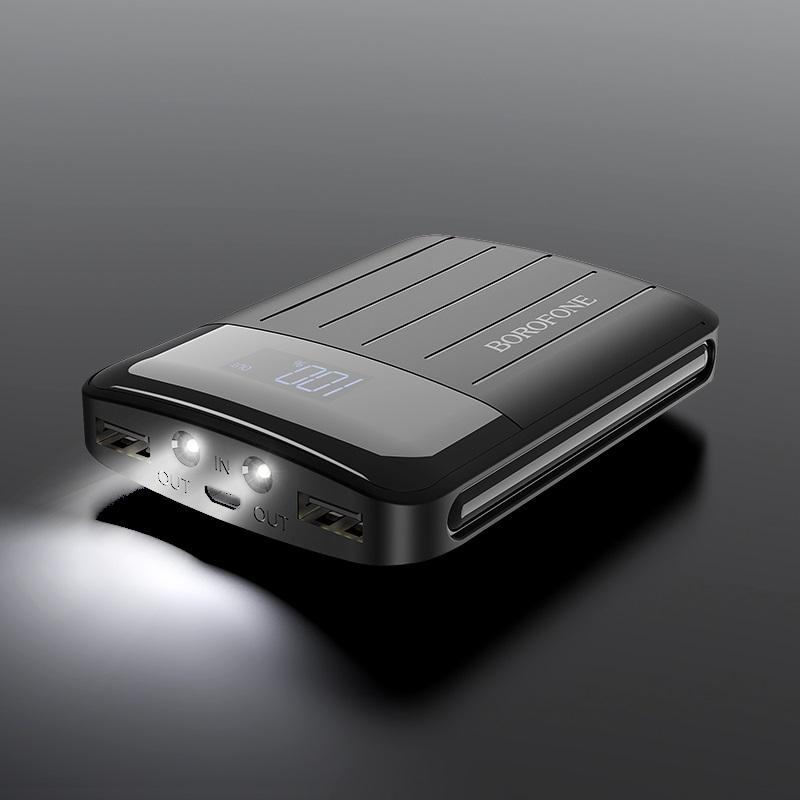 شارژر همراه بروفون مدل BT21 ظرفیت 10000 میلی آمپر ساعت